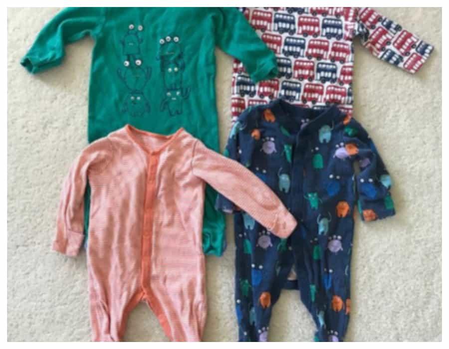 Organizar el cajor de la ropa de bebe